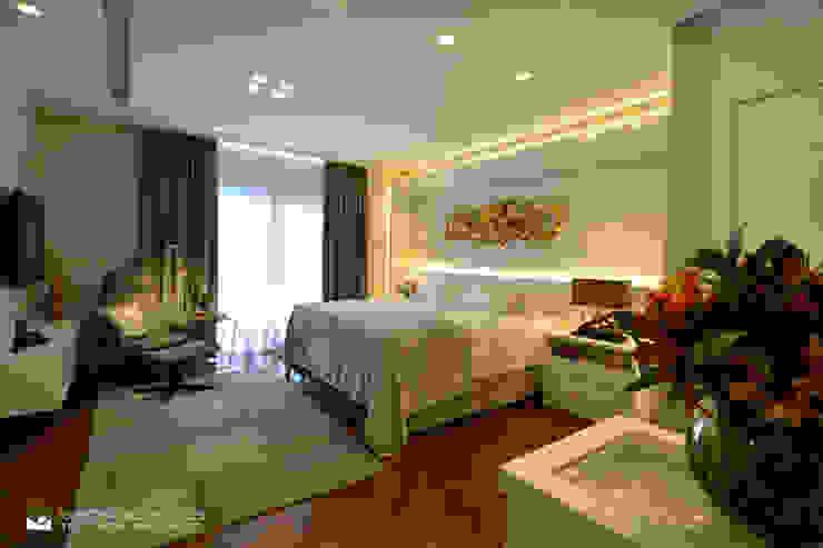 Chambre moderne par Tania Bertolucci de Souza | Arquitetos Associados Moderne