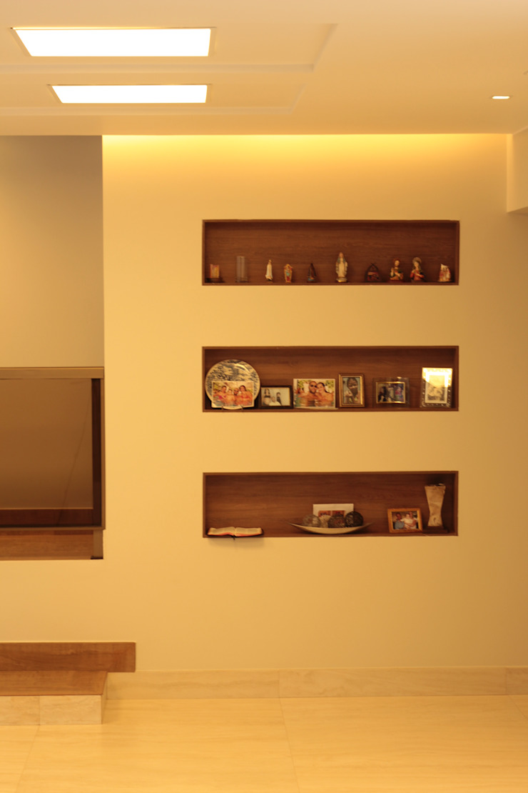 StudioM4 Arquitetura Living roomLighting