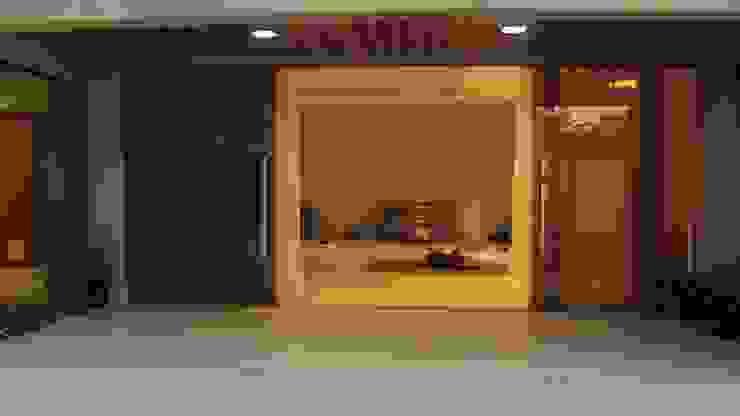 StudioM4 Arquitetura Balconies, verandas & terraces Lighting