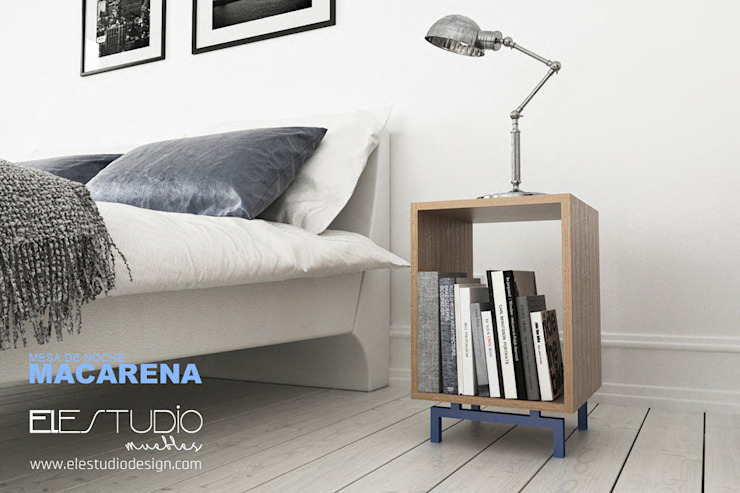 minimalist  by ELESTUDIO, Minimalist Wood Wood effect