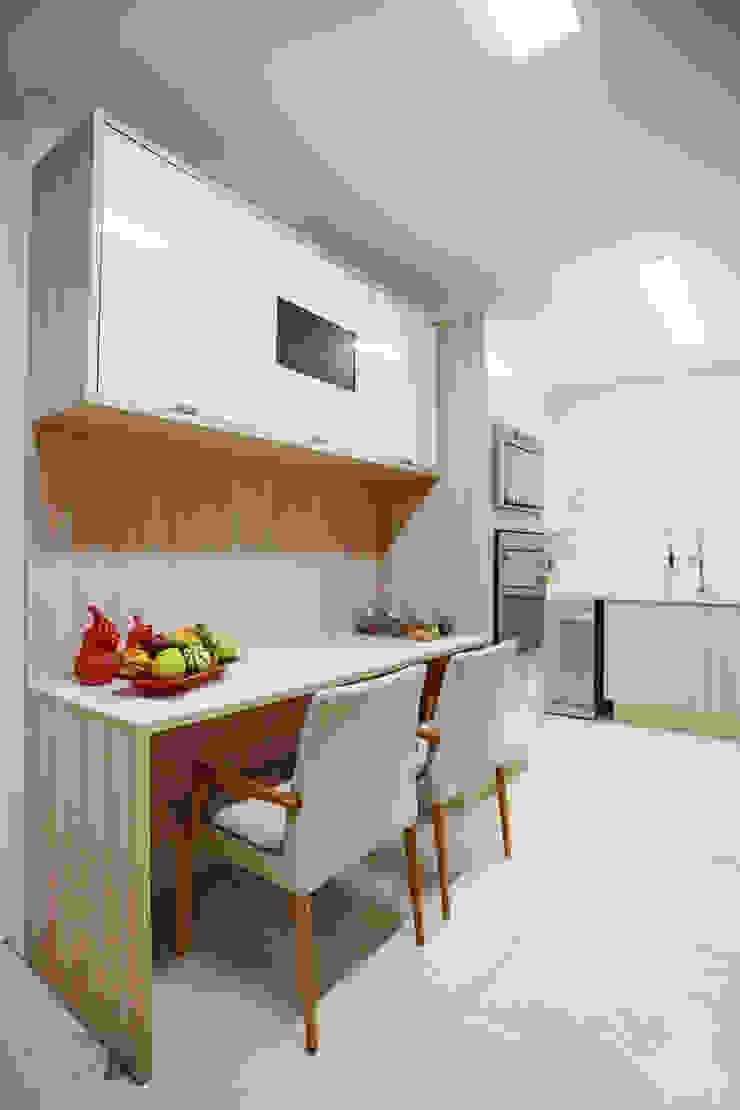 Cozinha Cozinhas ecléticas por Orizam Arquitetura + Design Eclético