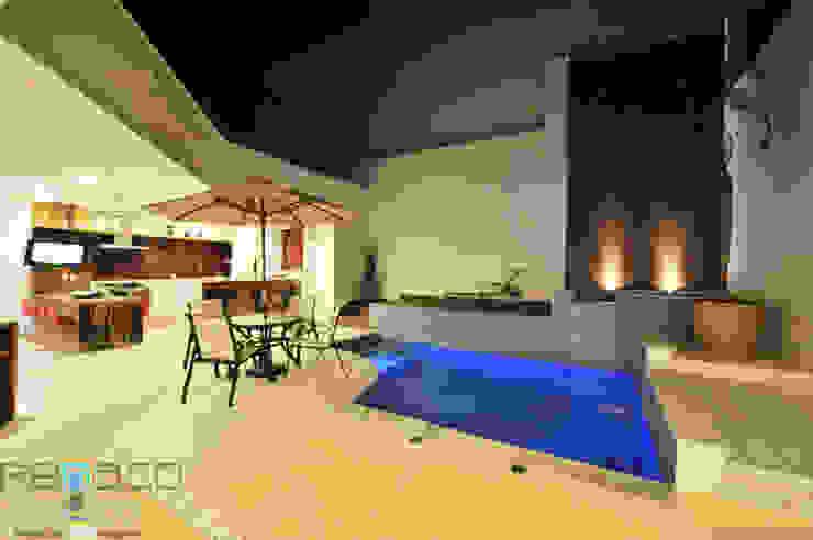 Residência C.M Renato Souza Arquitetura Varandas, alpendres e terraços modernos