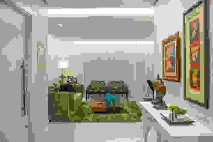 Residencial da Colina Salas de estar clássicas por Carla Almeida Arquitetura Clássico