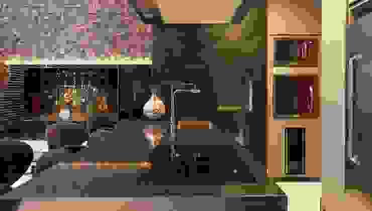 Atemporal e Atual Cozinhas modernas por Deborah Nicolau Arquitetura e Interiores Moderno