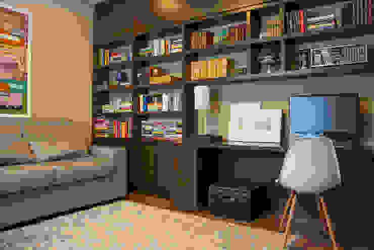 Residencial da Colina Escritórios clássicos por Carla Almeida Arquitetura Clássico