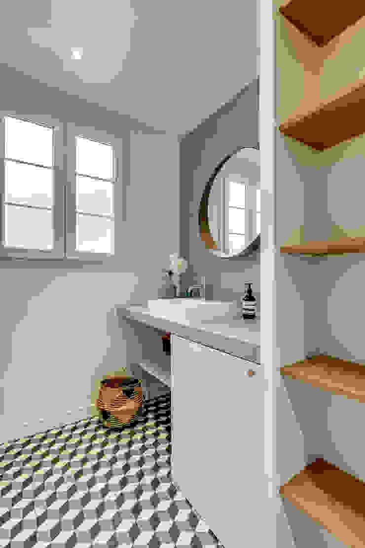 Modern Bathroom by Transition Interior Design Modern Wood Wood effect