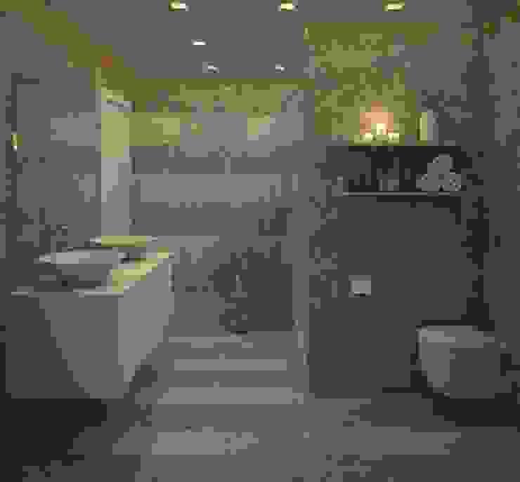 Modern bathroom by Gabriela Afonso Modern Tiles
