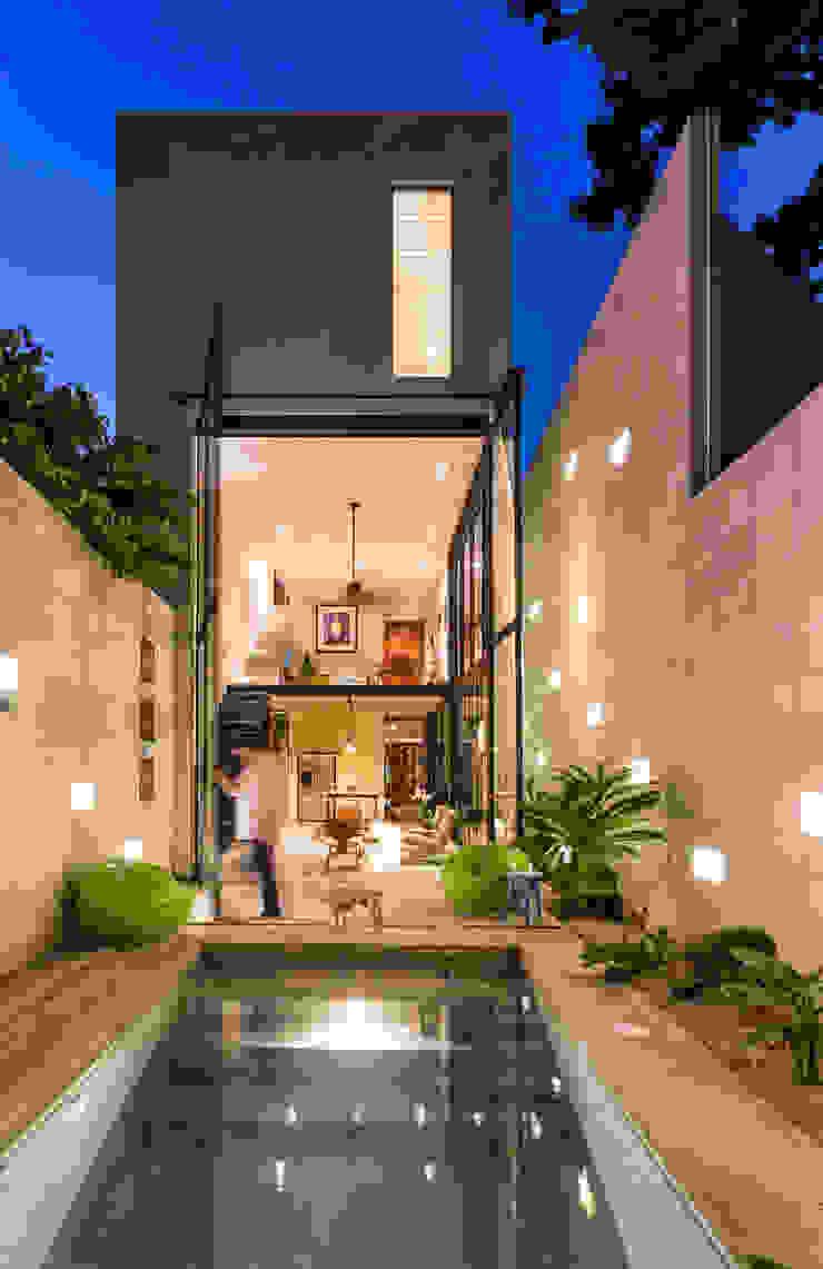 Fachada Posterior Taller Estilo Arquitectura Casas eclécticas