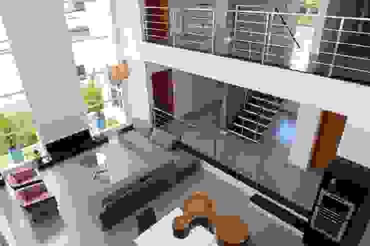 Projeto Salas de estar modernas por alexandre chaguri arquitetura Moderno