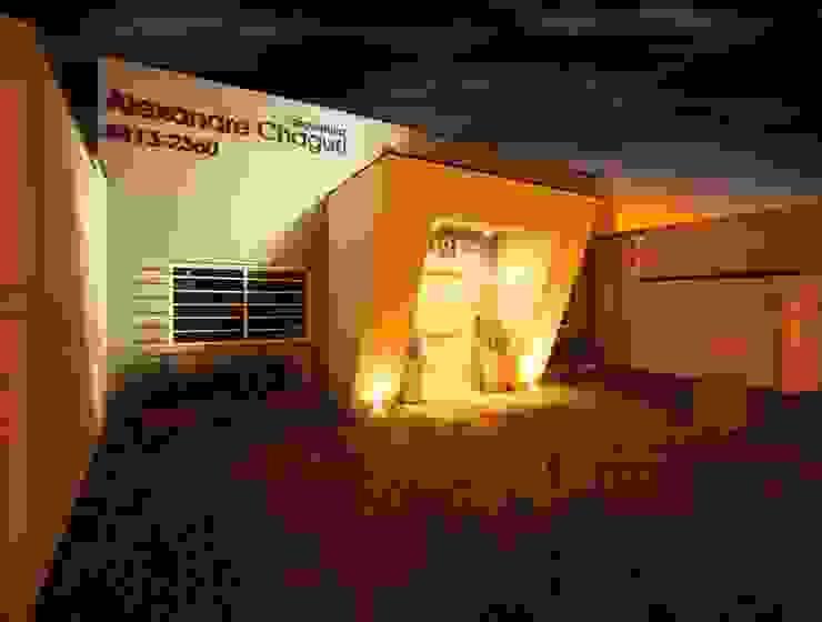 Projeto Casas modernas por alexandre chaguri arquitetura Moderno