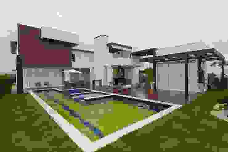 Projeto Jardins modernos por alexandre chaguri arquitetura Moderno