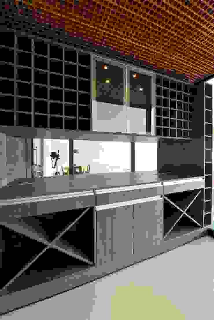 Projeto Cozinhas modernas por alexandre chaguri arquitetura Moderno