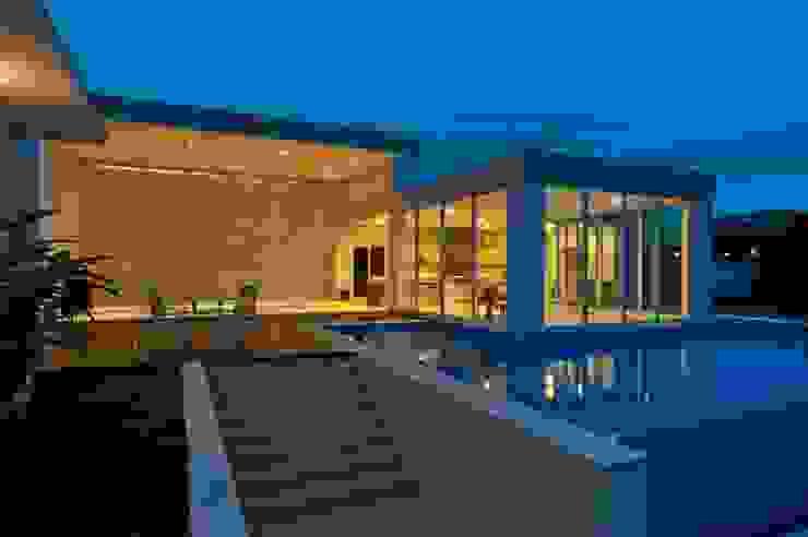 Projeto Piscinas modernas por alexandre chaguri arquitetura Moderno