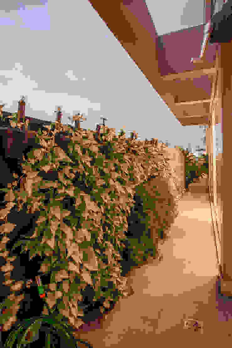 Projeto Varandas, marquises e terraços modernos por Heloisa Titan Arquitetura Moderno