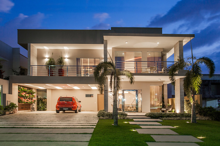 Projeto Modern houses by Heloisa Titan Arquitetura Modern