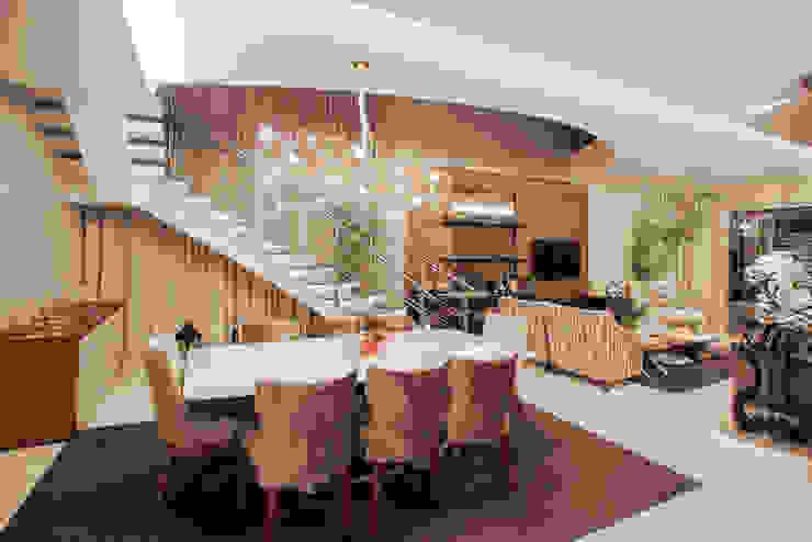 Projeto Salas de jantar modernas por Heloisa Titan Arquitetura Moderno