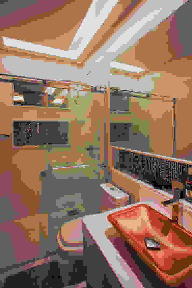 Projeto Casas de banho modernas por Heloisa Titan Arquitetura Moderno