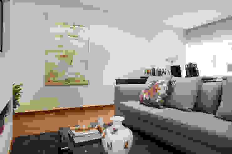 Casa São Caetano Salas de estar modernas por Carmen Anjos Arquitetura Ltda. Moderno