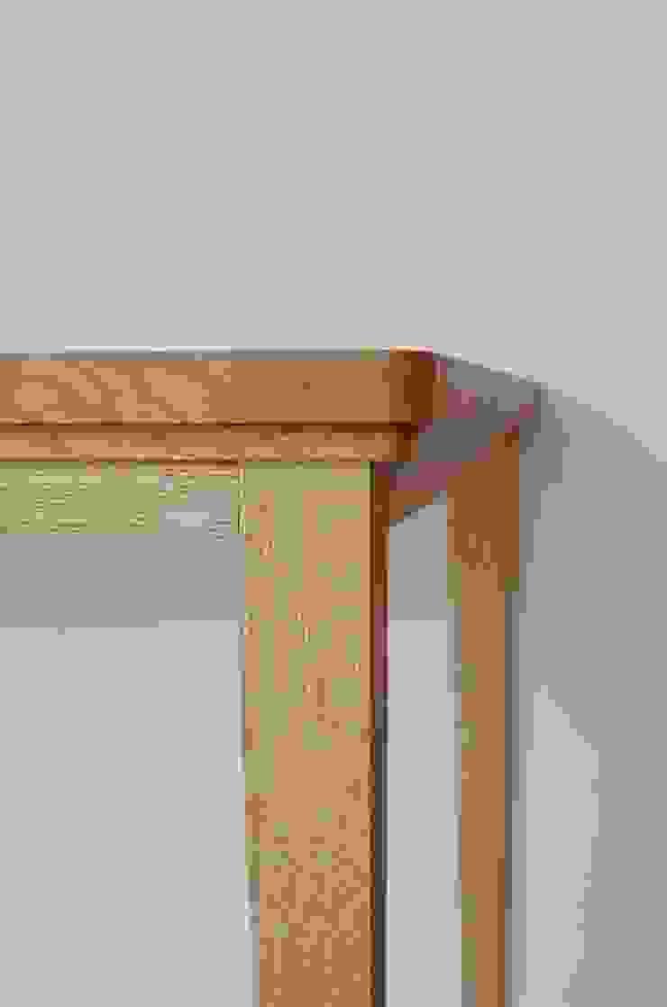 KICHI TABLE: ROIRO (ロイロ 株式会社)が手掛けた素朴なです。,ラスティック 木 木目調
