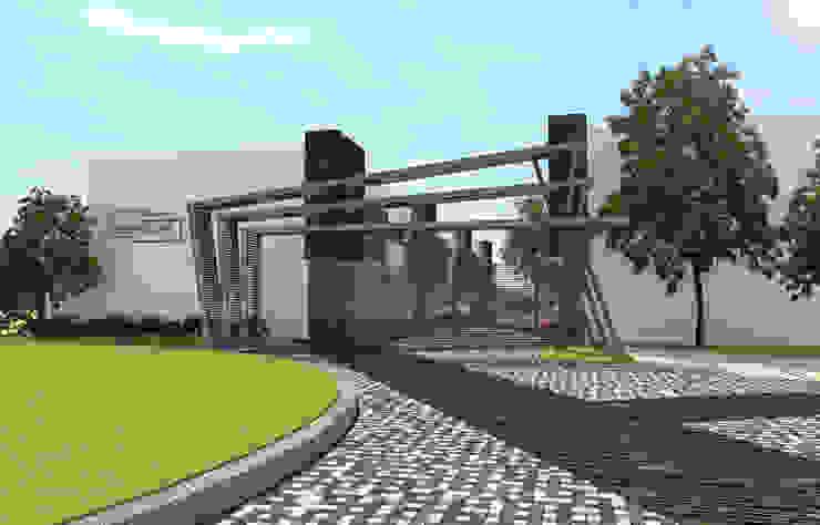 Residencial Escultores Casas modernas de studioQUATTRO.mx Moderno