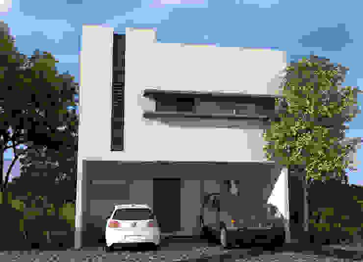 Casas modernas de studioQUATTRO.mx Moderno