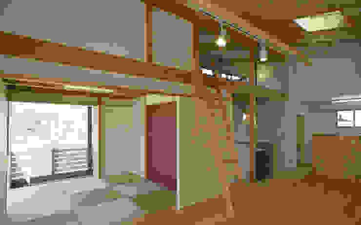 SHIMA HOUSE 和風デザインの リビング の AMI ENVIRONMENT DESIGN/アミ環境デザイン 和風