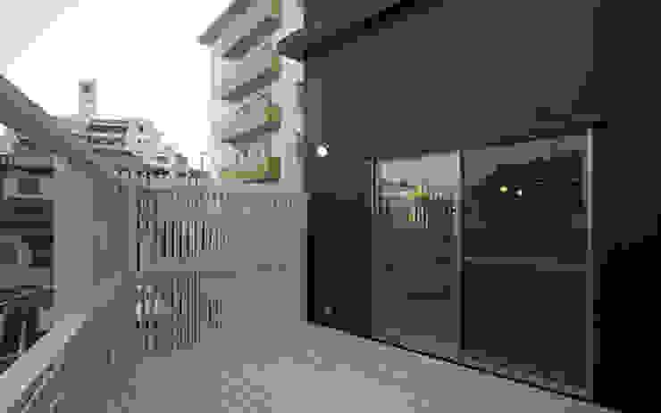 祖原の家 和風デザインの テラス の AMI ENVIRONMENT DESIGN/アミ環境デザイン 和風