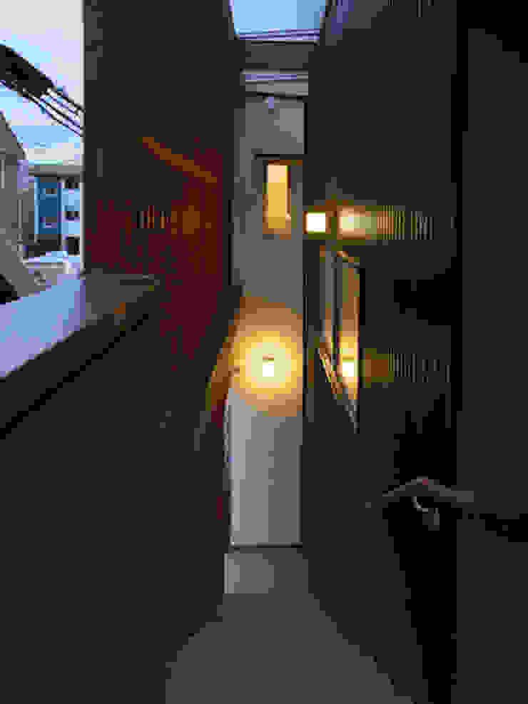 祖原の家 和風の 玄関&廊下&階段 の AMI ENVIRONMENT DESIGN/アミ環境デザイン 和風