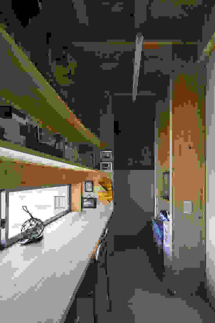 伊勢のスキップハウス HOUSE IN ISE オリジナルデザインの 書斎 の プラスアトリエ一級建築士事務所 オリジナル