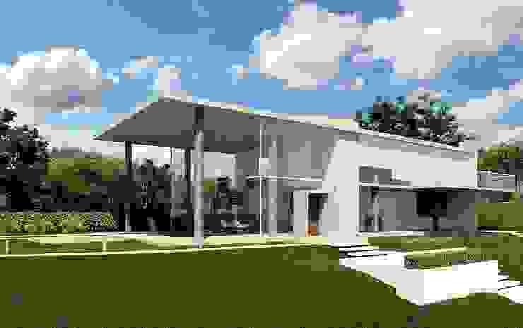 Minimalist house by Aonze Arquitetura Minimalist Glass