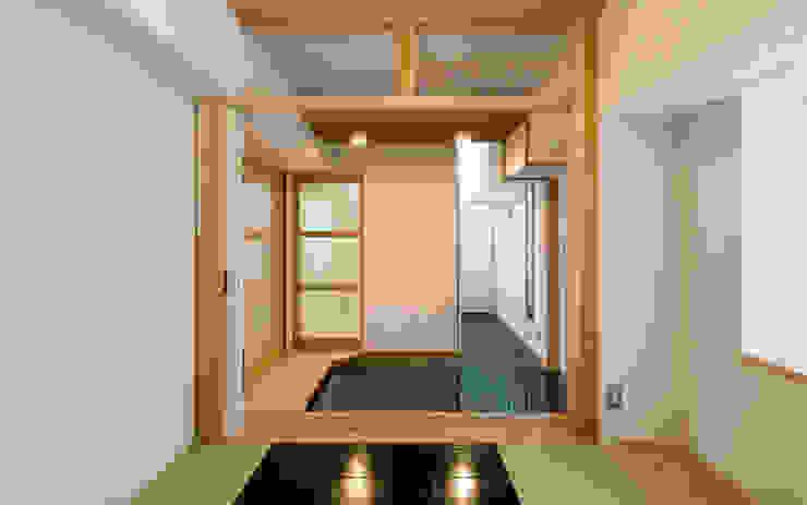 久留米の家 和風の 玄関&廊下&階段 の AMI ENVIRONMENT DESIGN/アミ環境デザイン 和風