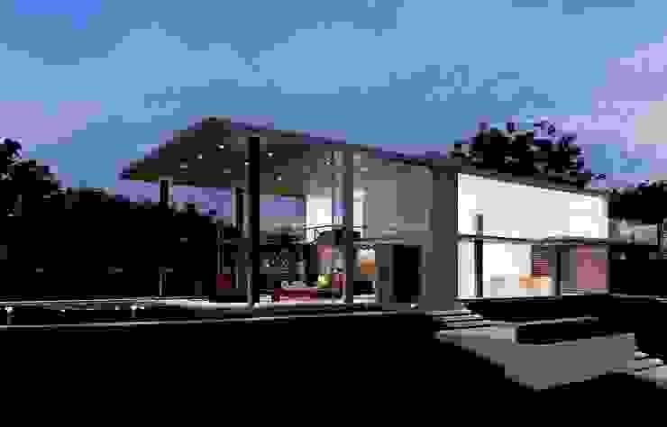 Minimalist house by Aonze Arquitetura Minimalist Concrete