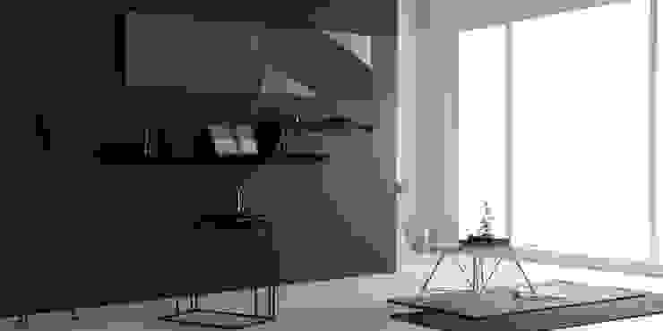 FIABA Livingroom 미니멀리스트 거실 by Fiaba (피아바) 미니멀 철 / 철강