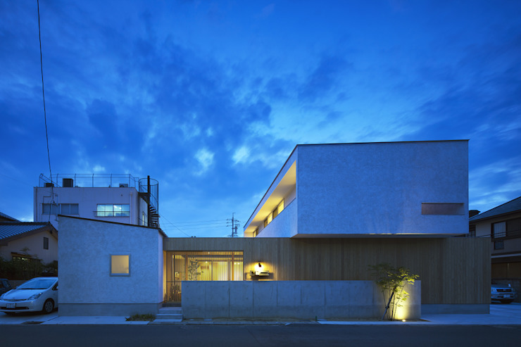 仲庭の家 モダンな 家 の プラスアトリエ一級建築士事務所 モダン
