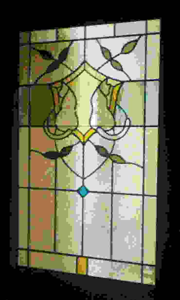 2匹の猫: タラ工房が手掛けた折衷的なです。,オリジナル ガラス