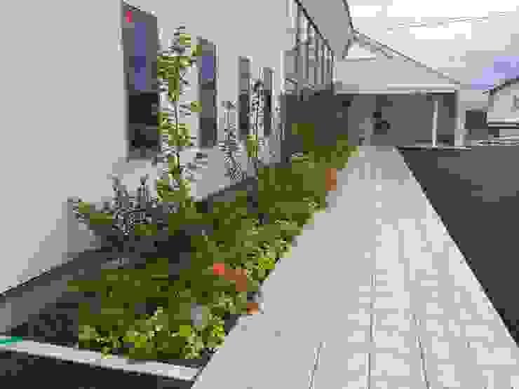 直方のクリニックの庭 アジア風 庭 の 庭園空間ラボ teienkuukan Labo 和風