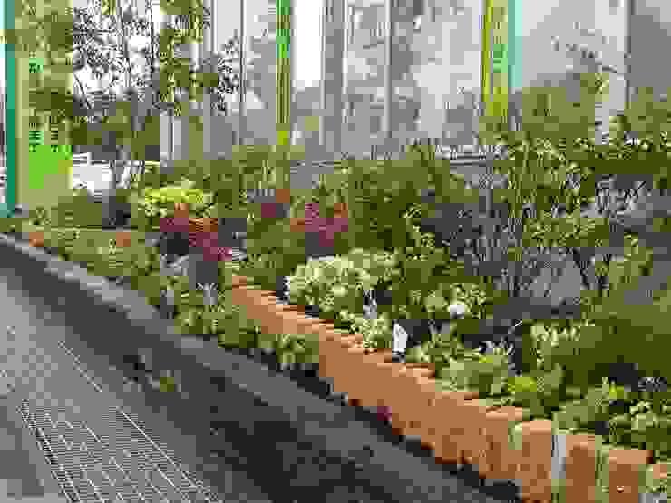 Asian style garden by 庭園空間ラボ teienkuukan Labo Asian