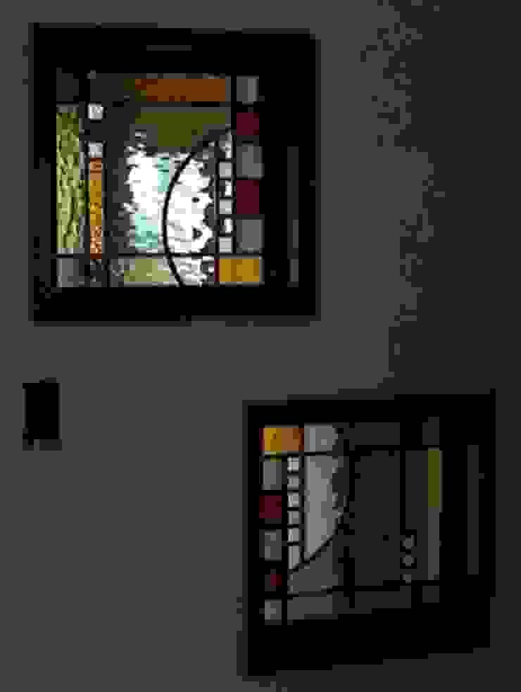 ブラウニー: タラ工房が手掛けた現代のです。,モダン ガラス