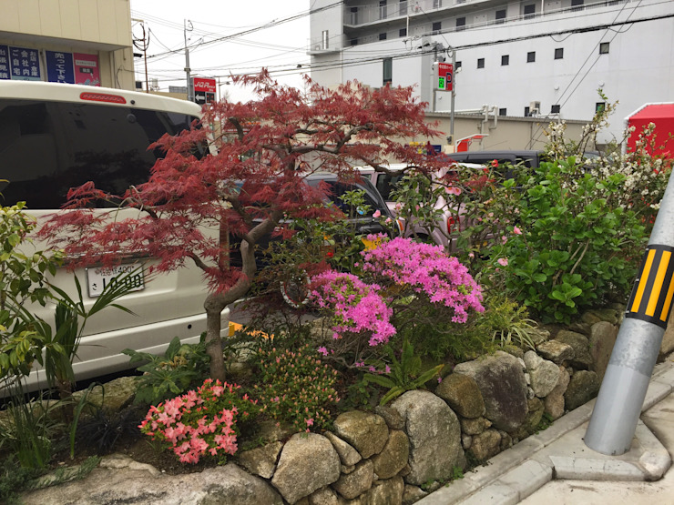 庭in福岡 アジア風 庭 の 庭園空間ラボ teienkuukan Labo 和風