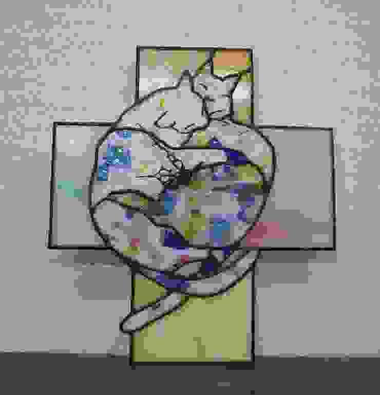 ステンドグラスの小物たち: タラ工房が手掛けた折衷的なです。,オリジナル ガラス
