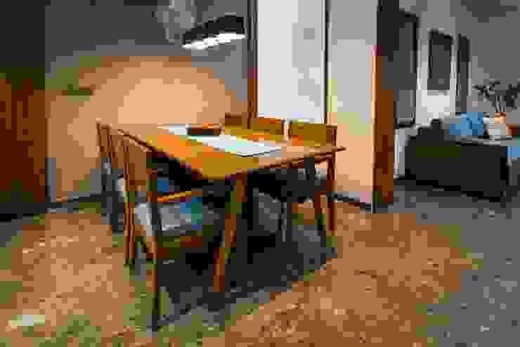 Chandresh bhai interiors Modern dining room by Vipul Patel Architects Modern