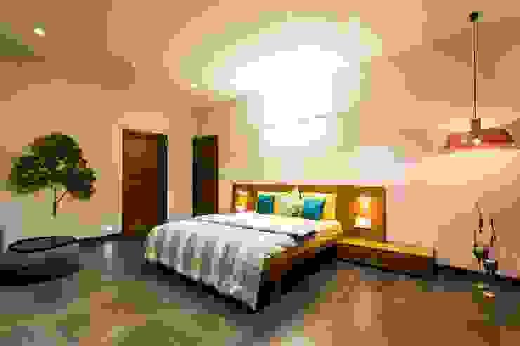 Vipul Patel Architects의  침실, 모던
