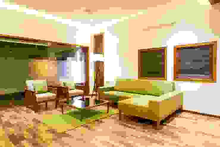 Jayesh bhai interiors Modern living room by Vipul Patel Architects Modern