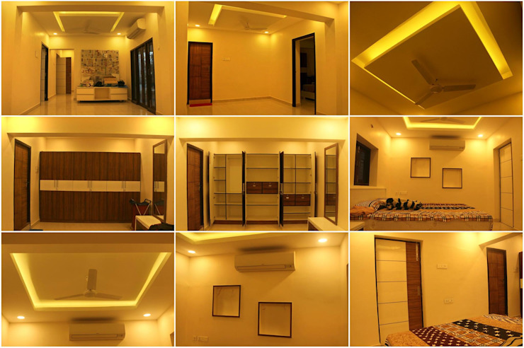 TG ARCHITECTS Dormitorios de estilo moderno