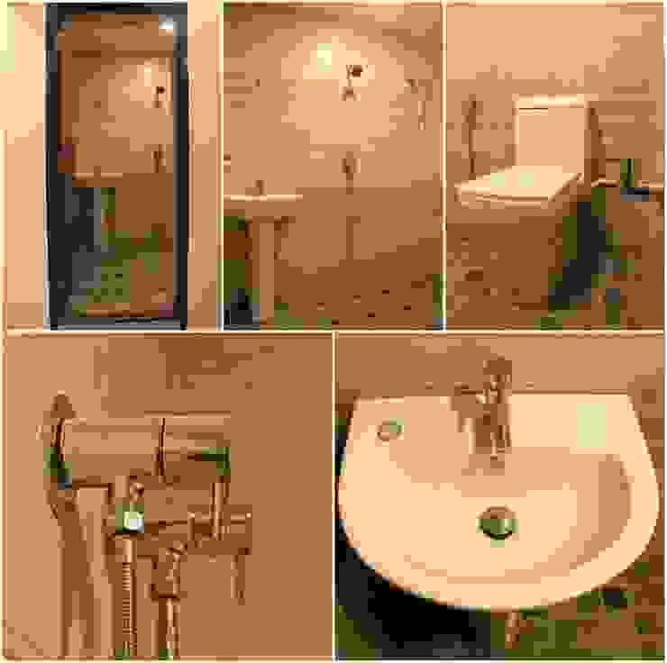 TG ARCHITECTS Modern bathroom