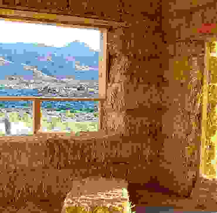 โดย Eco House Turkey Saman - Kerpic Ev โมเดิร์น