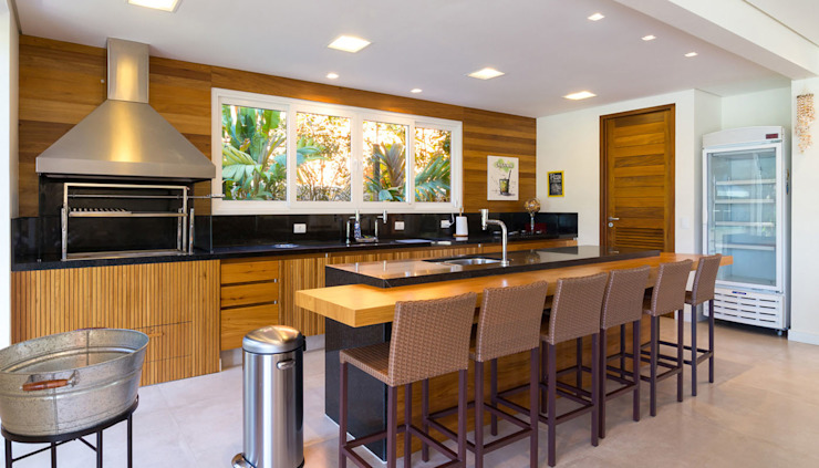 Projeto Cozinhas modernas por Pitta - Arquitetura e Engenharia Moderno