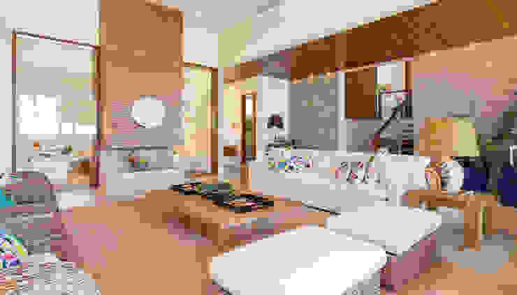 Projeto Salas de estar modernas por Pitta - Arquitetura e Engenharia Moderno