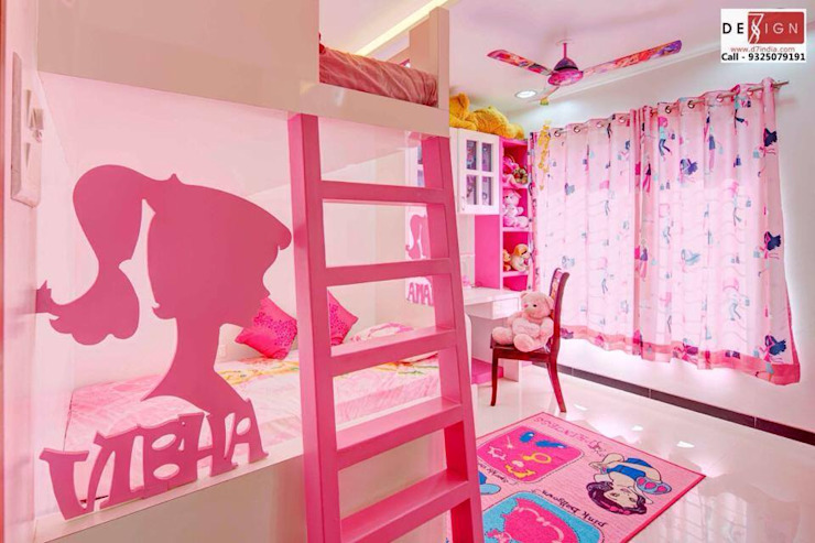 Kids room Interior Modern nursery/kids room by Dessign7 Interiors Pvt Ltd Modern