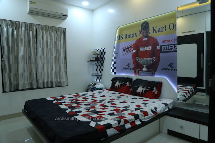 Residence Modern style bedroom by Archsmith project consultant Modern